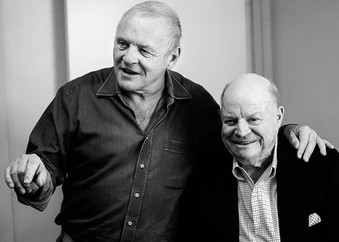 Anthony Hopkins & Don Rickles / jvephoto.com
